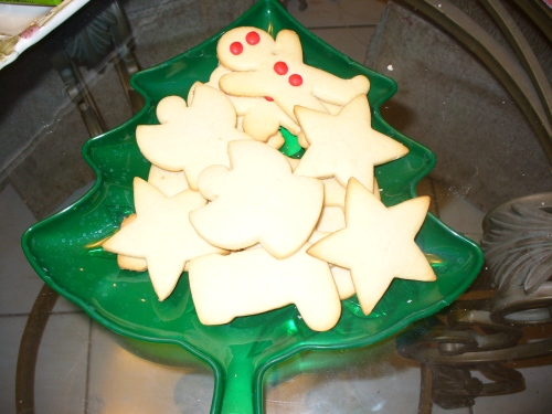 Christmas shapes not Christmas blobs