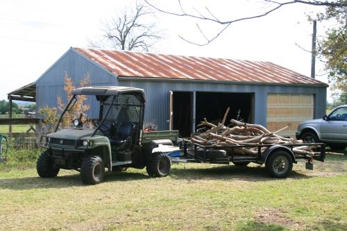 one of three hauls