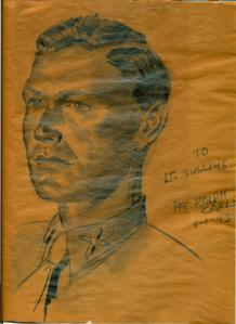 To Lt. Sullins from Pfc. Ralph Carls 9-1-43