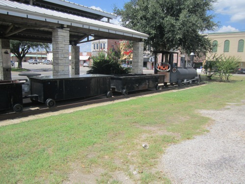 This is not a real train.  It makes great bar-be-cue.