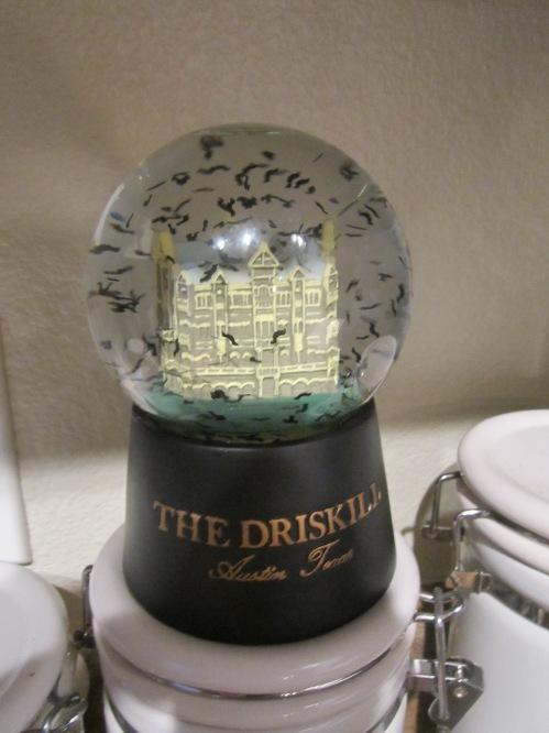 Batglobe from the Driskill Hotel, Austin, TX