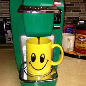 happy face keurig